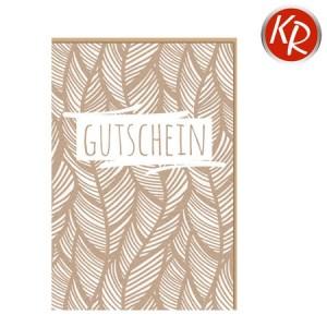 Faltkarte  Gutschein 65-0019
