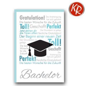Faltkarte Bachelor 66-0053
