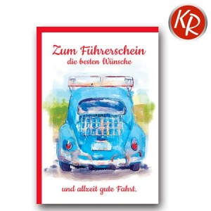 Faltkarte Führerschein 69-0020
