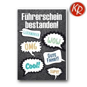 Faltkarte Führerschein 69-0023