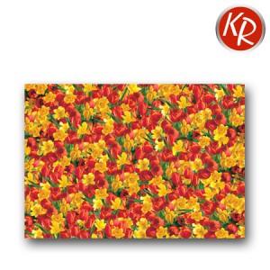 25 Geschenkpapier Bogen Frühling Blumen 70-0058