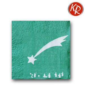 16er Pack Sternprägung, grün 73-0055