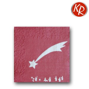 16er Pack Sternprägung, rot 73-0056