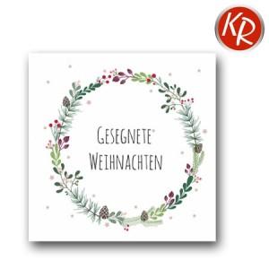 """20er Pack Serviette """"Gesegnete Weihnachten"""" 73-0088"""