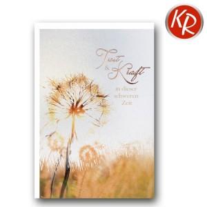 Faltkarte Trauer 80-0368