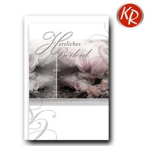 Faltkarte Trauer 80-0385