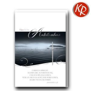 Faltkarte Trauer 80-0465