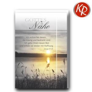 Faltkarte Trauer 80-0466