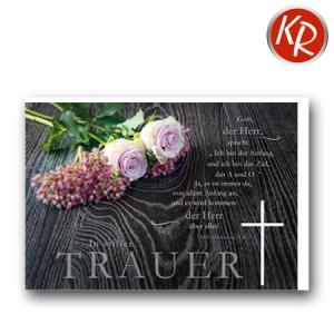 Faltkarte Trauer 80-0467