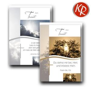 10er Serie Trauerkarten 85-0045