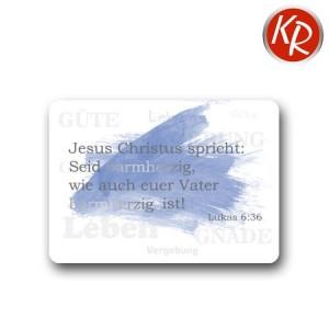 Postkarte mit Folienprägung Jahreslosung 2021 90-0100